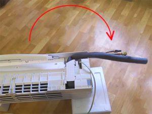 Как вывернуть трубки кондиционера