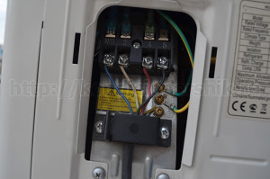 Подключение внешнего блока кондиционера