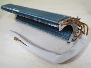 Радиатор внутреннего блока настенной сплит-системы