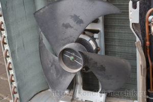 Вентилятор внешнего блока