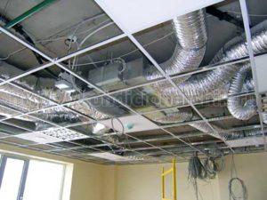 Канальный кондиционер за потолком