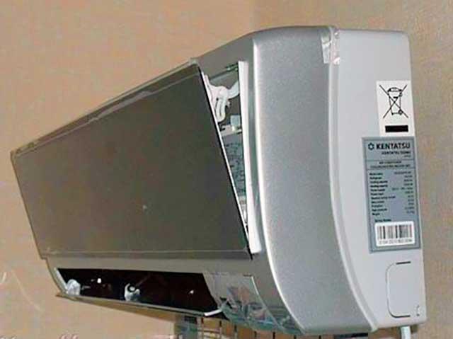 Чистка кондиционера kentatsu своими руками при какой температуре можно включать кондиционер samsung на обогрев