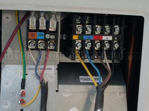 Соединение проводов кондиционера