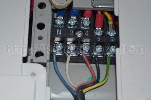Подключение проводов кондиционера