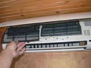 Как снять фильтр сплит-системы для чистки