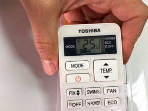 """25 градусов на дисплее """"сплита"""""""