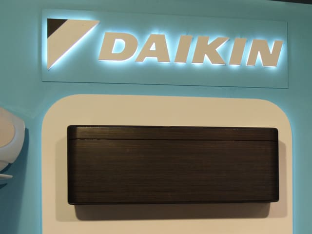 """Чёрный """"кондёр"""" Daikin"""
